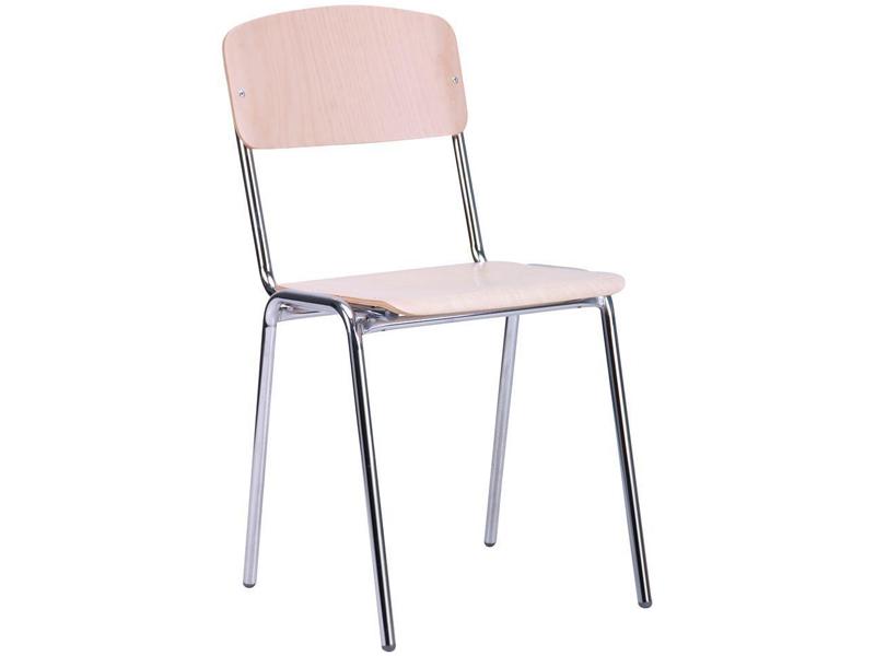 Школьный стул Школьник хром - Фото