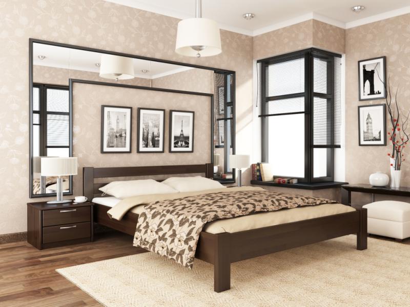 Деревянная кровать Рената - Фото