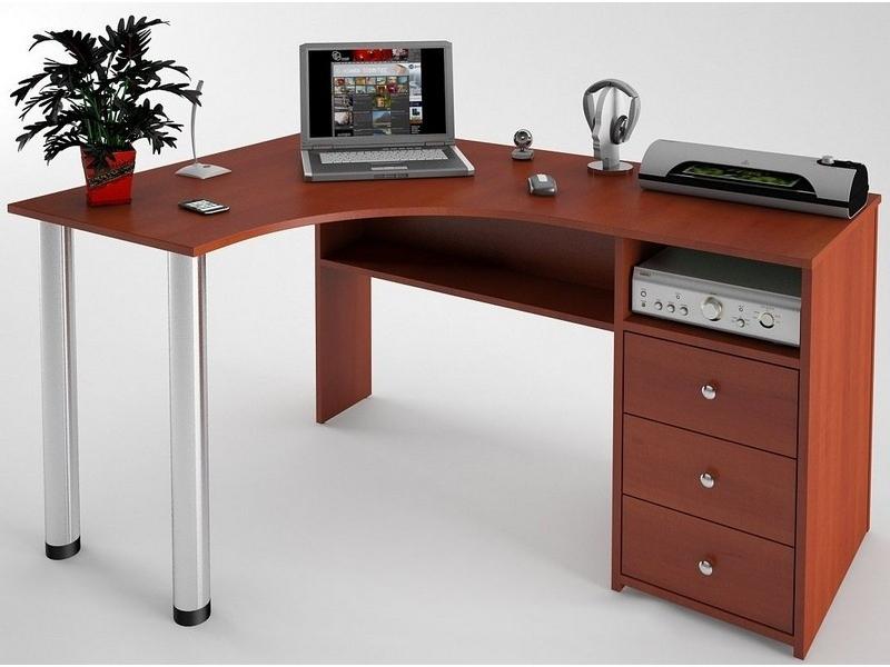 Угловой компьютерный стол С-819 - Фото