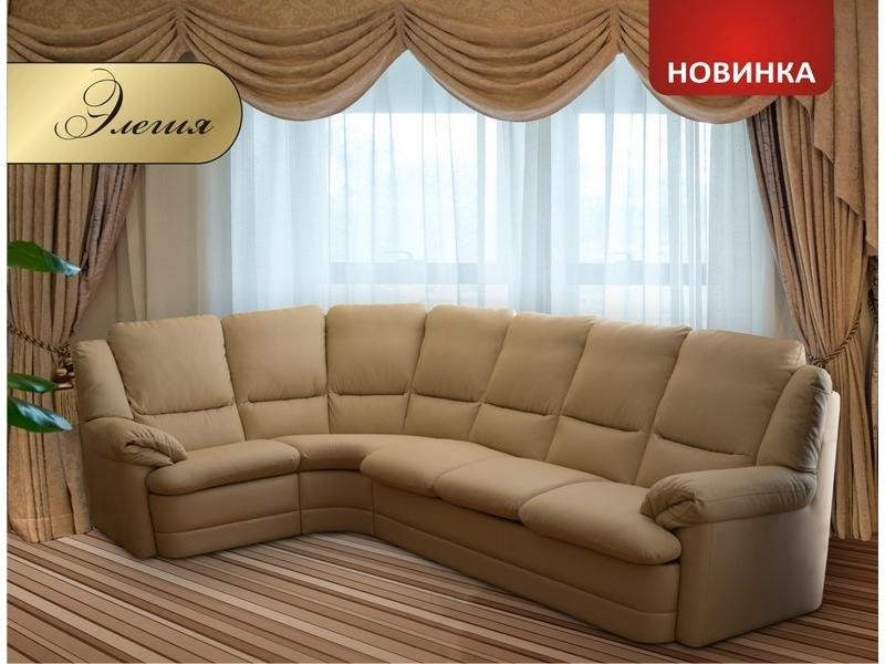 Диван угловой Элегия МКС - Фото