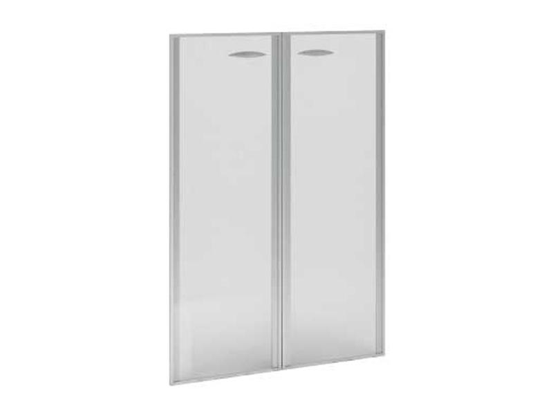 Двери стеклянные в алюминиевом профиле ВР.РСО12 - Фото